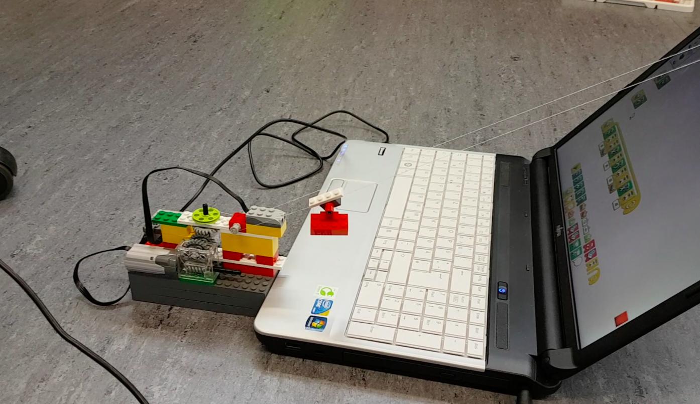 Bergbahn Lego WeDo